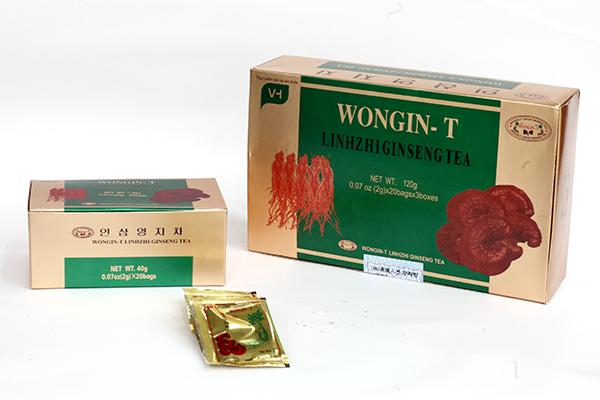 Chè Linh Chi Sâm 2g Wongin-T(40 hộp)