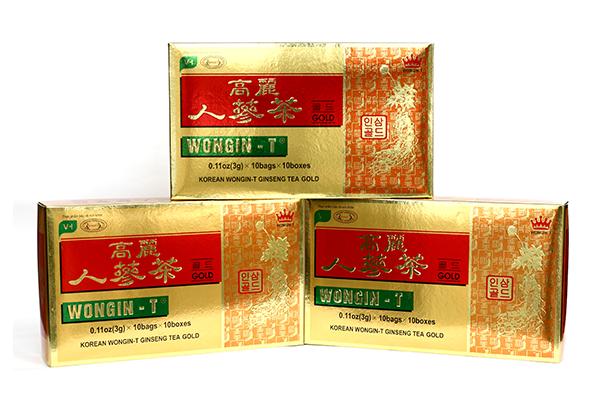 Chè Sâm 3g chất lượng vàng Wongin-T(30 Hộp)